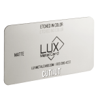 Stainless Steel Matte Metal Business Card