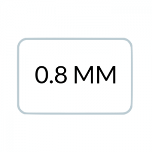 0.8 MM Thickness ($0.75 Per Card)
